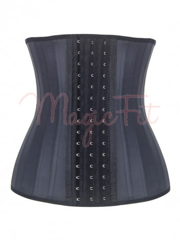 25 Steel Boned Raw Latex Waist Trainer