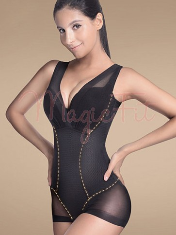 3-in-1 Award Winning Ultra Tummy Flattening Super Waist Slimmer Bust Lifting Seamless One Piece Bodysuit