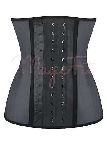 MagicFit Signature Smooth Latex Waist Trainer with 9 Spiral Steel Bones
