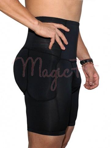 Mens Padded Butt Lifter Tummy Trimmer Shorts