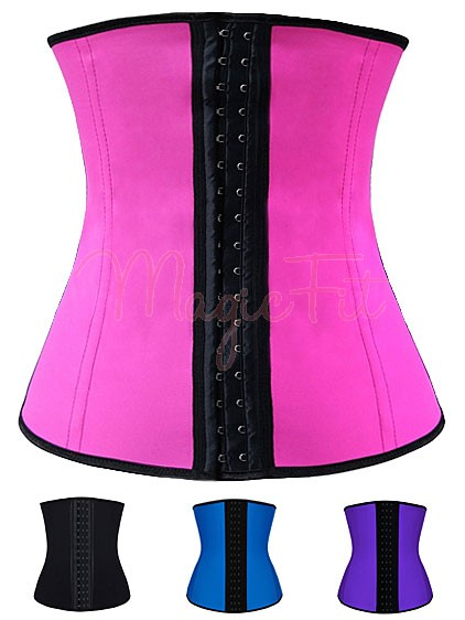 f8bf9e7a5ed Kim Kardashian Hi-Tech Fat Burning Latex Sports Waist Training Corset