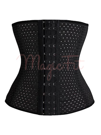 a723830ec1 Sports Safe Extra Breathable Waist Trainer Waist Slimmer with Spiral ...