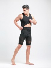 Men's Tummy Flattening Body Shaper Shorts