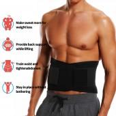 Mens Waist Trainer Tummy Flattening Belt