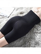 Seamless Tummy Flattening Butt Lifter Thigh Trimmer Shorts