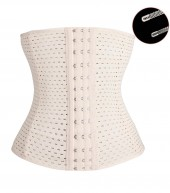 Sports Safe Extra Breathable Waist Trainer Waist Slimmer with Spiral Steel Bones