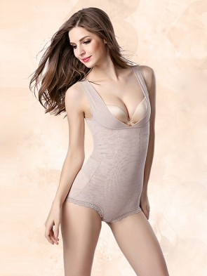 3-in-1 Micro Mesh Waist Slimmer Push-Up Bodysuit