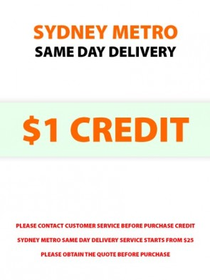 Same Day Delivery Credit