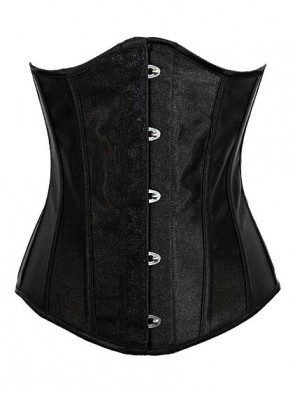 Waist Training Steel Boned Under Bust Hourglass Shaper Corset