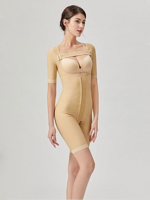 Stage 2 Surgical Recovery Anti Bacterial Medical Compression Shapewear Bodysuit