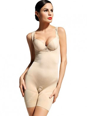 The Body Foundation Basic - 4-in-1 Charcoal Fat Burning Body Suit - Boob Lift Waist Slimmer Bum Lift Thigh Slimmer