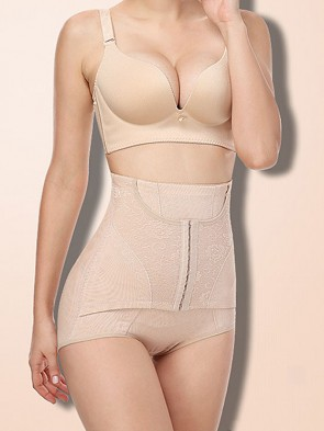 Ultimate High Waist Instant Tummy Flattening Butt Lifter Recovery Panty Nude