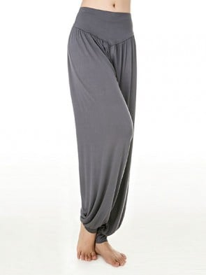 Yoga Meditation Cotton/Modal Yoga Pant Grey