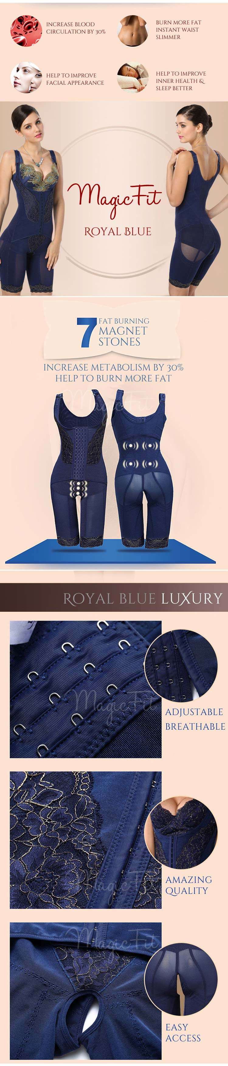 royal blue bodysuit