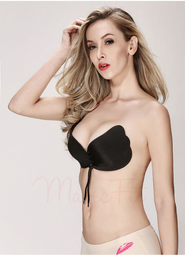 2nd Generation Adhesive Bra Black