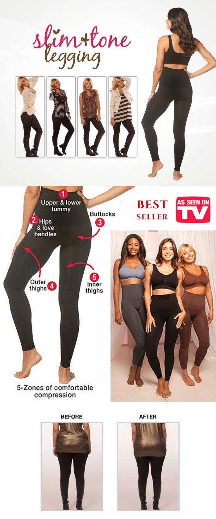 waist slimmer legging