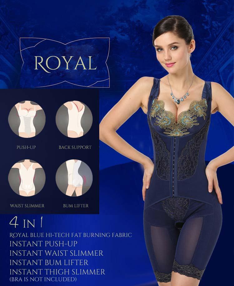 magicfit royal blue shapewear