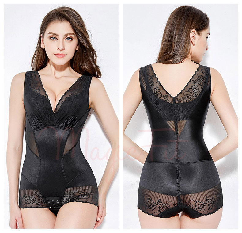 Ultra Tummy Flattening Bodysuit Back
