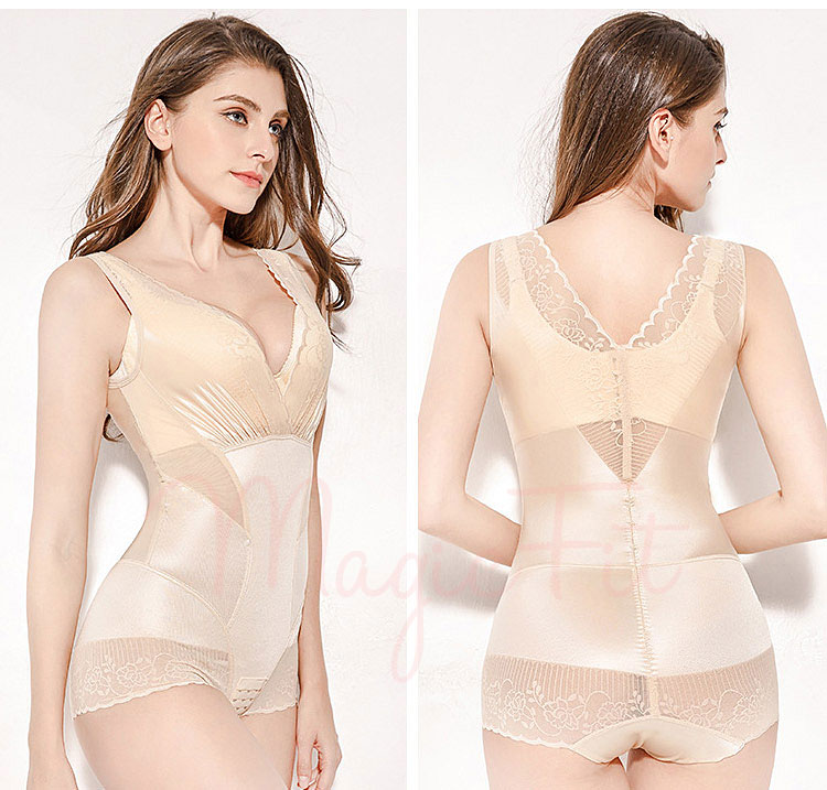 Ultra Tummy Flattening Bodysuit Nude3