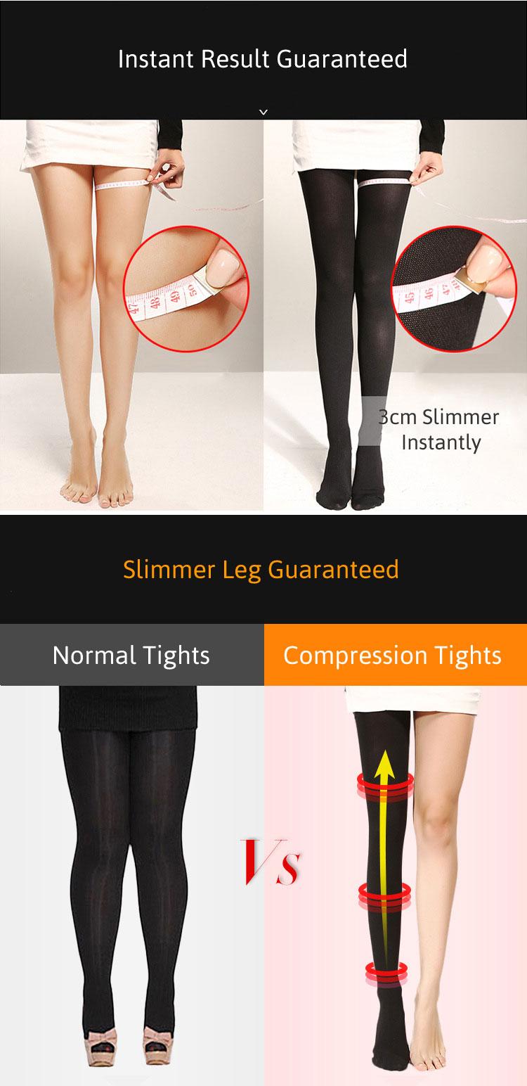 Details Features Instant Leg Slimmer