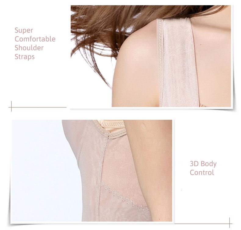 3 in 1 Micro Mesh Waist Slimmer Push-Up Bodysuit