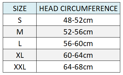 face lifter size chart
