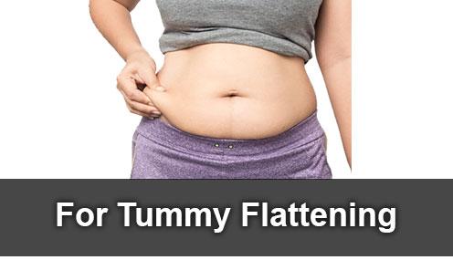 for tummy flattening