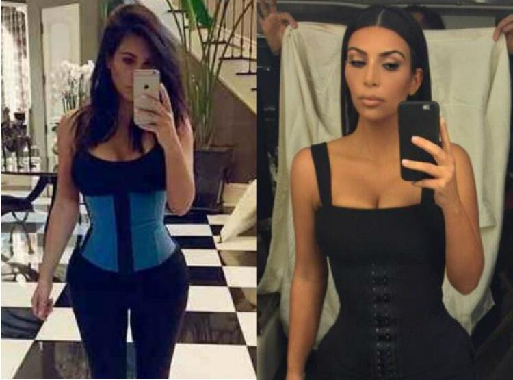 0add7b5c0ad0a Kim Kardashian Hi-Tech Fat Burning Latex Sports Waist Trainer