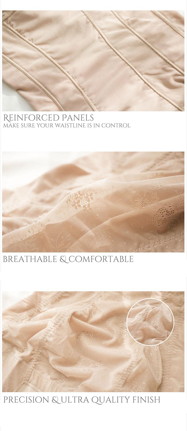 Sexy Lace Overlay Body Shaper Dress - Boob Lift Waist Slimmer Bum Lift