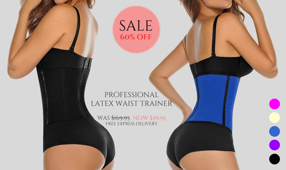 magicfit latex waist trainer