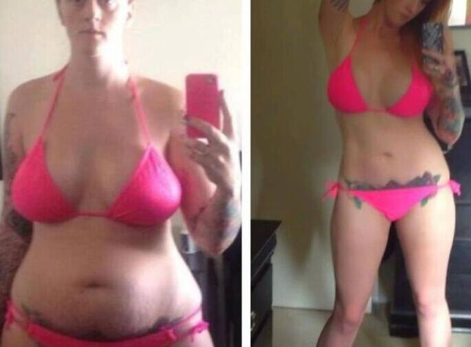 MagicFit Weight loss in 2 weeks before and after