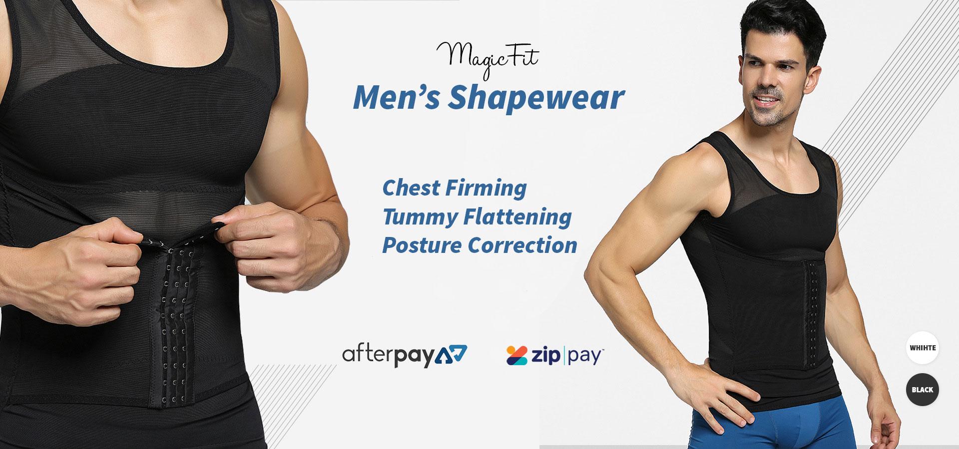 Mens Tummy Flattening Singlet