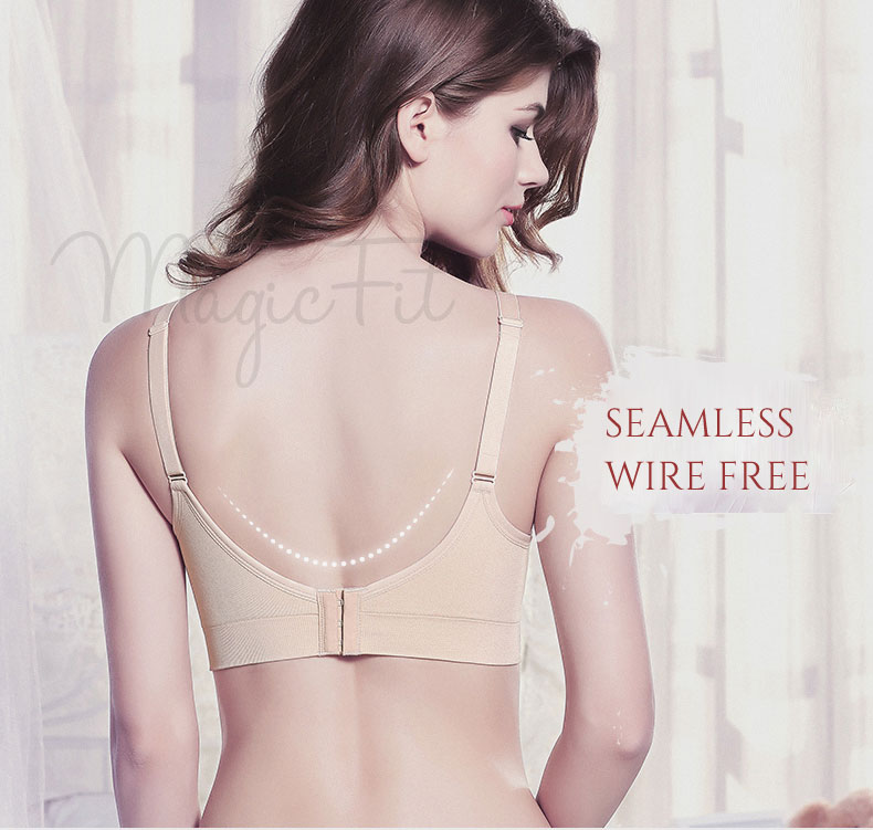 Rejuvenation Antibacterial Seamless Maternity Nursing Bra4