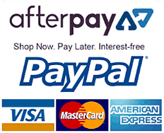 magicfit accepts payments by cards, PayPal and Afterpay