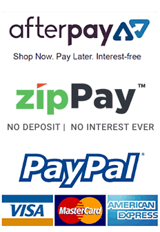 magicfit accepts payments by cards, PayPal, Afterpay and ZipPay