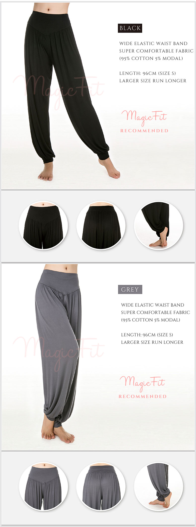 yoga meditation cotton modal pants